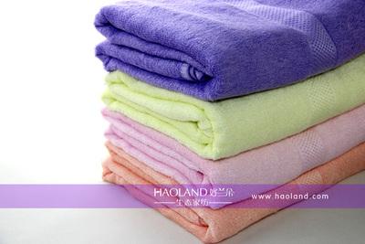 新型缎档竹纤维毛巾