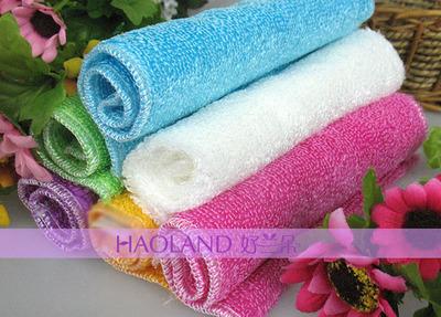 竹纤维韩式双层洗碗巾